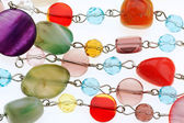 Barevné kuličky náhrdelník