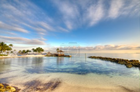 Beach in Nassau Morning