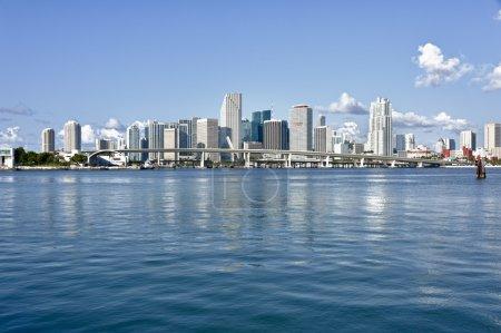 City of Miami Skyline