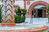 Fountain in Flagler College St. Augustine