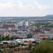 Part of the city centre of Bloemfontein in South A...