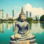The Seema Malaka Temple - Gangaramaya in Colombo...