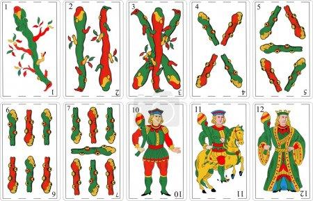 Spanish Decks, Cartas Españolas