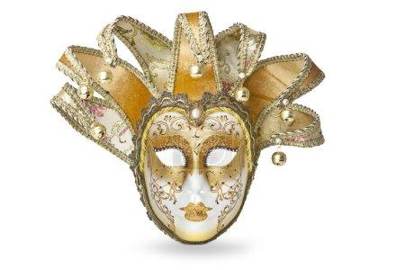 Carnival golden mask