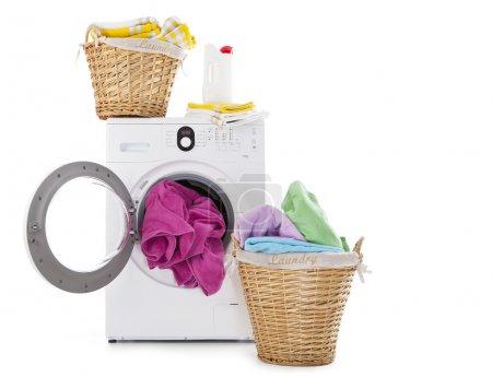 Laundry Basket and washing machine