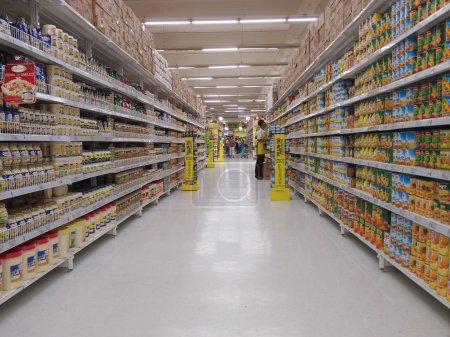 Photo for Groceries in a modern supermarket in manilia philippines - Royalty Free Image