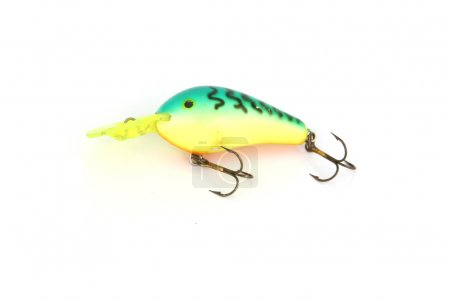 The Green Fishing Lure.