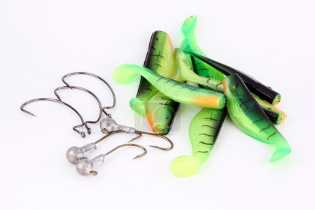 Green Fishing luer.