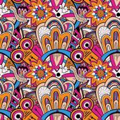Seamless abstract hand-drawn pattern steampunk background