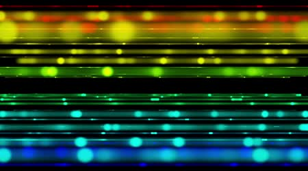 Futuristic video animation with moving stripe light background, loop HD 1080p