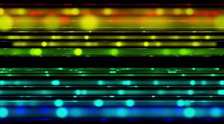 Futuristische Videoanimation mit bewegten Streifen heller Hintergrund, loop hd 1080p