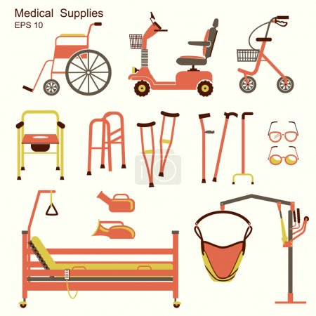 medical hospital equipment for disabled people