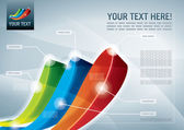 Abstract presentation background All elements are layered separately in vector file Easy editable eps 10
