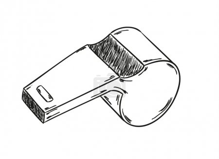 sketch of the whistle