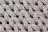 White knitting wool texture background.