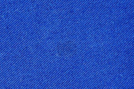 Blue cotton fabric texture background.