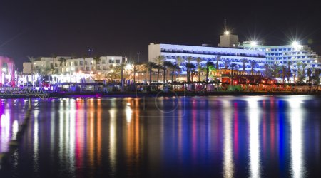 Eilat at night