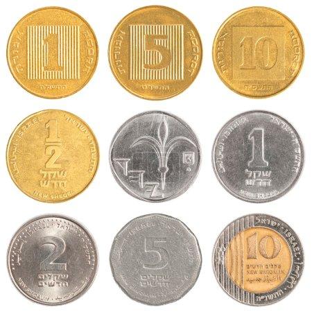 Israel circulating coins collection