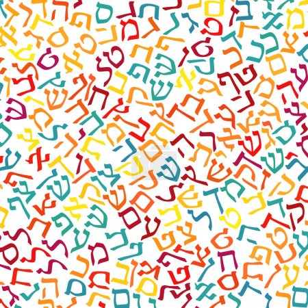 hebrew alphabet texture background
