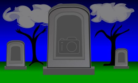 Twilight Gravestones