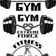 Vector Set: Weight Lifting, Labels and Stickers gy...