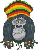 Gorilla Rastafarian