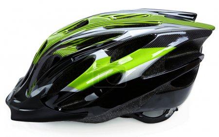 Photo for Bike Helmet Isolated On White Background - Royalty Free Image
