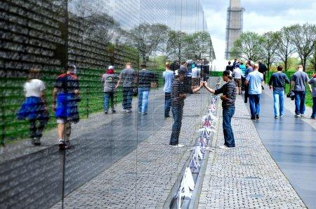 Vietnam Veterans Memorial in Washington DC, USA