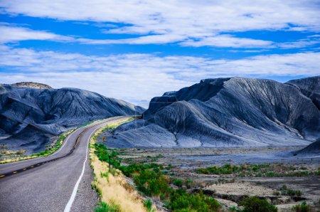 On the road, Utah, USA.