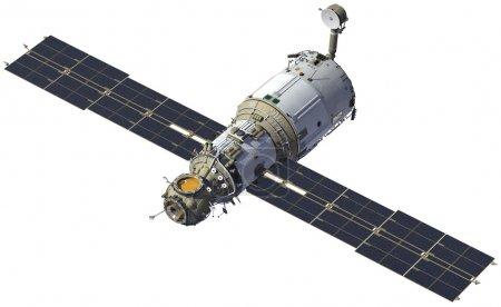 "International Space Station. Module ""Zvezda""."