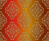 Vector pattern Barocco style perfect seamless texture EPS 8 format