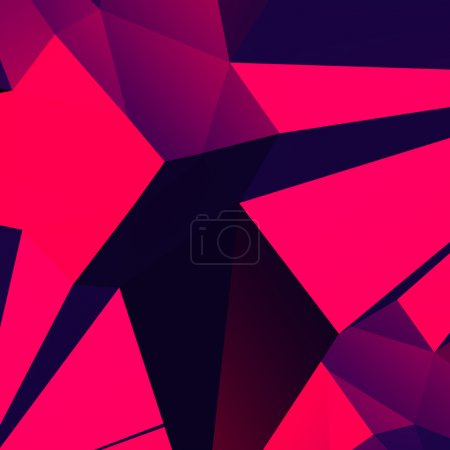 Photo for Abstract crystal background - Royalty Free Image