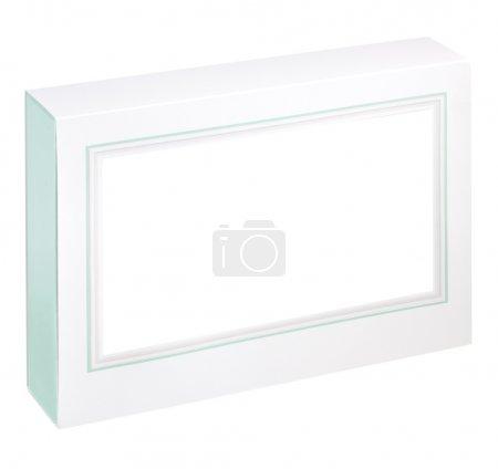 Photo pour Boîte cadeau blanche vide - image libre de droit