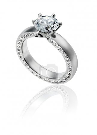 Diamond Ring isolated