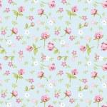 Vintage flower seamless pattern background...