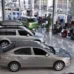 Kiev trade auto salon Praha-Auto with set of new S...