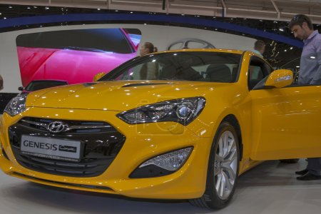 Hyundai Genesis Coupe car model
