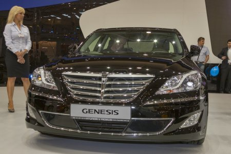 Hyundai Genesis car model on