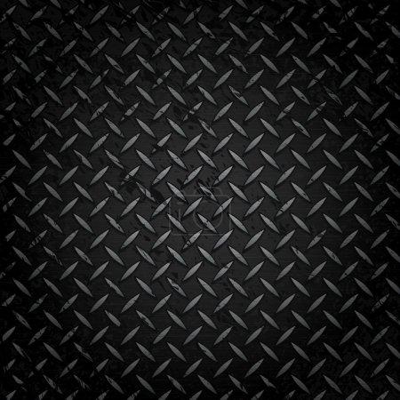 Illustration for Vector Metal Grate Background - Royalty Free Image