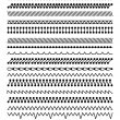 Collection of Vector Stitch Patterns...