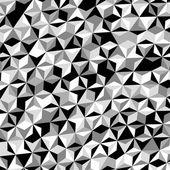 Black White Gray Triangle Pattern Vector