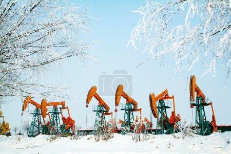 China daqing oil field,