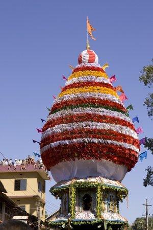 GOKARNA, INDIA - Feb 27: People celebrate the Mahashivratri Hind