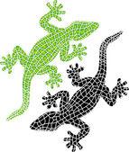 Decorative geckos