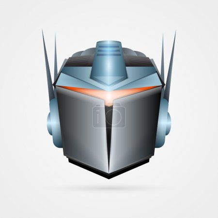 Illustration for The robot, vector illustration - Royalty Free Image
