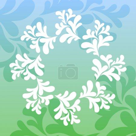 Photo pour Fond floral. Illustration vectorielle . - image libre de droit