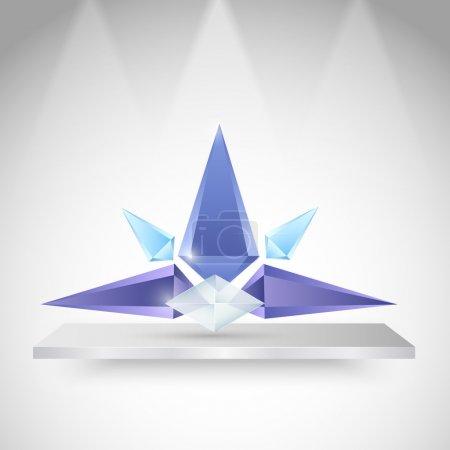 Illustration pour Conception vectorielle géométrique moderne - image libre de droit