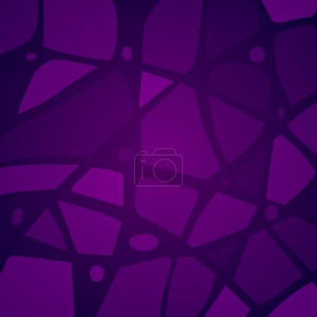 Vektor lila Mosaik Hintergrund.