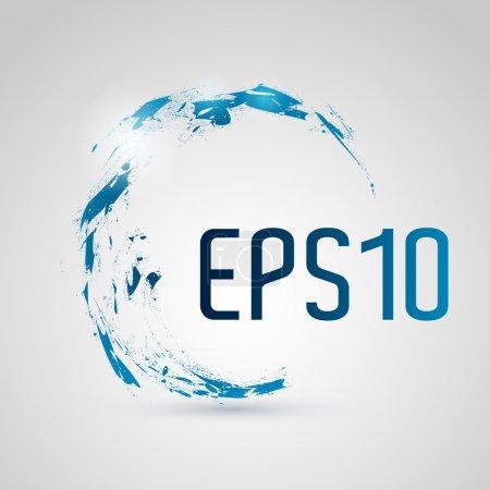 Photo pour Résumé EPS 10 background . - image libre de droit