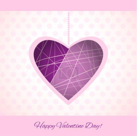 Vektor-Hintergrund zum Valentinstag